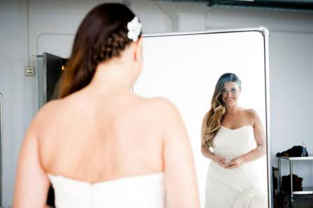 Bridal hairstyles for long hair: Once Upon A Bride NYC